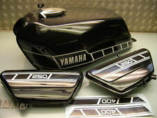 NEW ! ORIGINAL YAMAHA FUEL/GAS + OIL TANK RD 250 RD 400 + NICE SIDE PANEL/COVER