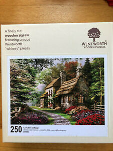 "Wentworth Wooden Jigsaw Puzzle - ""Carnation Cottage"""
