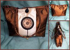 Sac Femmes Sac de shopping sac à main Aspect Tissu en Soie Asie Style 32 cm