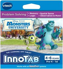 Vtech InnoTab 2 3 3S Max Game - Disney Pixar Monsters University 4-7 years