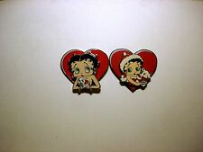 BETTY BOOP PINS LOT #32 TWO PIECE SWING PIN SET (RETIRED ITEMS)