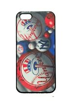 New York Yankees NYY Yanks For iPhone 4/4S 5 Plastic Hard Case Clear/Black/White