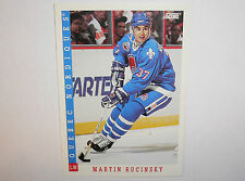 MARTIN RUCINSKY Martin Ručinský Quebec Nordiques Hockey Card  #254