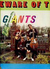 GIANTS beware of the giants DUTCH RARE Surf, Rock & Roll