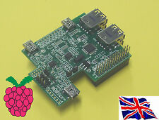 Rs-pi interior Usb Hub & Multifunción I2c Rtc Board Para Raspberry Pi