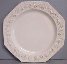 Wedgwood QUEENSWARE Octagonal Dinner Plate Cream on Cream-Plain
