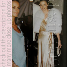 KATHRYN NEALE in Balenciaga Edition Champagne Glitter Evening Gown 38/S-M