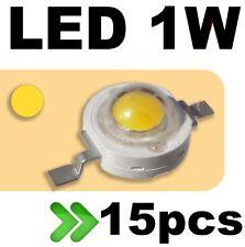 536/15# LED 1W Jaune --- 15pcs
