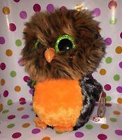 """6"""" Ty Beanie Boo Midnight the Halloween Owl"""