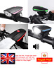 MS1 Roar UK Bicycle Front Flash LED Light Loud Horn Waterproof Bright USB