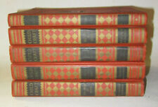 1937 Childcraft Book Lot 2-5 with PARENT GUIDE, CHILD AT SCHOOL, CHILD AT HOME