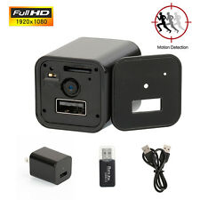 1080P Spy Camera Wireless HD USB WiFi Mobile Hidden AC Adapter Wall Charger Plug