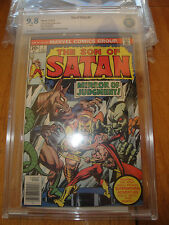 son of satan 7 cbcs 9.8 1976 only 3 exist cgc 9.8 Newsstand Mint Collection