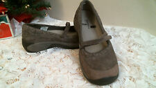 MERRELL Mary Jane's  BROWN Size 10  comfortable casual leather