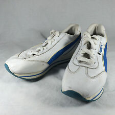 PUMA STREET CAT LOW SNEAKERS WOMEN SHOES WHITE/BLUE 246780 - 17 SIZE 7
