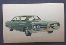 1968 BUICK LE SABRE promotional postcard (for dealers use) Framingham, MA