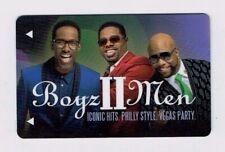 BOYZ II MEN / Boys II Men - MIRAGE Room KEY Card Casino LAS VEGAS Hotel