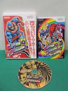 Nintendo Wii -- CAPTAIN RAINBOW -- very popular action. JAPAN. 51994