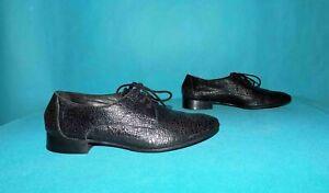chausssures derbies AMERICAN RETRO en cuir noir p 36 fr