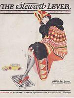 FALL 1924 THE STEWART LEVER vintage car magazine