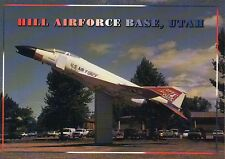 Home of F-16 Fighting Falcon Military Airplane Hill Air Force Base Utah Postcard