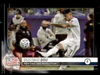 2020 MLS Base Black #30 Gustavo Bou 1/1 - New England Revolution