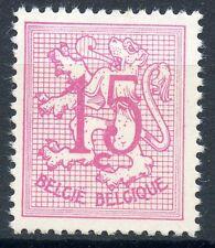 STAMP / TIMBRE DE BELGIQUE N° 1026C ** LION HERALDIQUE
