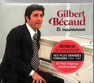 "CD ""Gilbert Becaud"" et maintenant    54 titres   NEUF SOUS BLISTER"