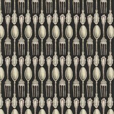 Country Flock Table Setting 100% cotton fabric by the yard