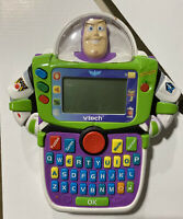 VTECH BUZZ LIGHTYEAR Learn and Go Toy Story Disney Pixar Electronic Handheld Euc