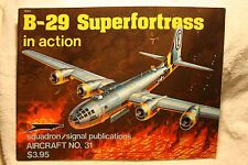 Boeing B-29 Superfortress in Action Squadron Signal Book # 1031 Very Good