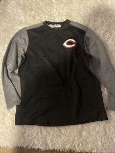 Majestic Official Cincinnati Reds ThermaBase Pullover Long Sleeve Shirt Mens XXL