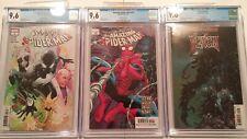 Amazing Spiderman 24, Symbiote Spiderman 3, Venom 15 Secret Variants ALL CGC 9.6