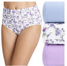 NEW Jockey Elance Cotton Comfort Panties Women's Underwear Briefs 3 Pr Size 6