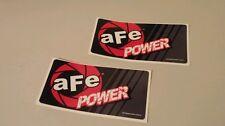 (2) aFe power DECAL Stickers jdm racing honda acura civic integra diesel truck
