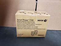 2 pack Xerox 106R0262 Magenta Toner Phaser 7100 Genuine OEM
