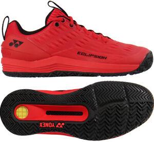 Yonex Power Eclipsion 3 Tennis Shoes Unisex Red Racquet All Court SHT-E3MACEX