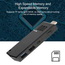 PC MINI COMPUTER STICK WIFI QUAD CORE 2+32GB SUPPORTO WINDOWS 10 EU PLUG