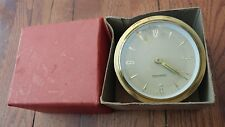 Mercedes M30 Original Wind-Up Clock West Germany with box box has 53 Ms. On it