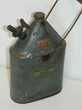 vintage ancien GOURDE hans eisinger BASEL suisse ARMY GOURD feldflasche TIN can