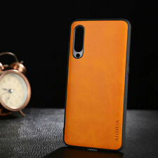 Case for Xiaomi Mi 9 mi9 SE Lite Luxury Vintage leather case Skin soft PC cover