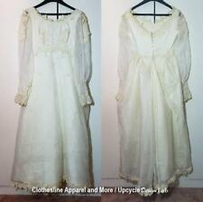 Wedding Dress Vintage Styling Great for Halloween Costume Small Medium Zombie