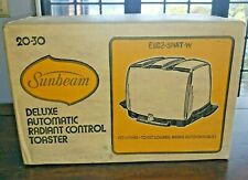 NEW in SEALED BOX Vintage Sunbeam Radiant Toaster 20-30 (aka AT-W?) ©1976