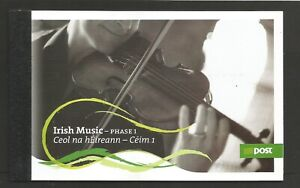 Ireland 2006 Irish Music Booklet (1st Series) SG 1813/1816 Unmounted Mint