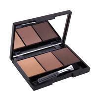 MAX DONA Eyebrow Powder Eye Brow Palette Cosmetic Makeup Shading Kit With B N3G9