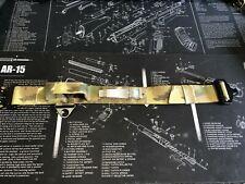 TACTICAL DOG COLLAR + HANDLE 45mm WIDE, COBRA BUCKLE Military MultiCam + strobe