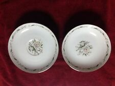 DIAMOND CHINA ROMANCE SILVER ROSE MADE IN JAPAN - 10 PIECES TOTAL