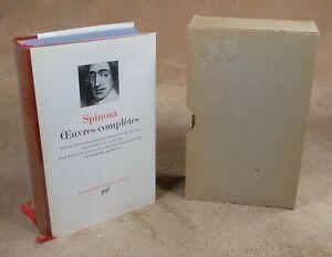 LA PLEIADE : SPINOZA - OEUVRES COMPLETES / 1978
