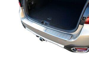 S/S Boot Lip Bumper Step Panel Garnish Protector For Subaru Outback 15-19