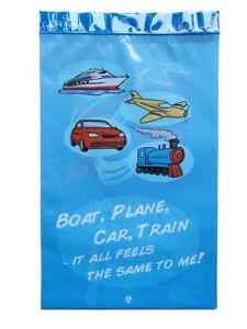 Vomit Bag Travel Sickness Emesis Motion Sickness Barf Spew Boat Car Train Plane